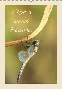 Flora und Fauna (Wandkalender 2019 DIN A2 hoch) von Hultsch,  Heike
