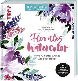 Florales Watercolor von Stapff,  Christin
