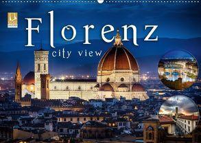 Florenz city view (Wandkalender 2018 DIN A2 quer) von Schöb,  Monika