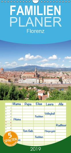 Florenz – Familienplaner hoch (Wandkalender 2019 , 21 cm x 45 cm, hoch) von Gann,  Markus