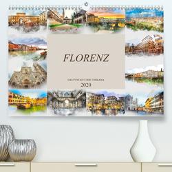 Florenz Hauptstadt der Toskana (Premium, hochwertiger DIN A2 Wandkalender 2020, Kunstdruck in Hochglanz) von Meutzner,  Dirk
