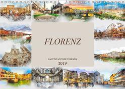 Florenz Hauptstadt der Toskana (Wandkalender 2019 DIN A4 quer) von Meutzner,  Dirk