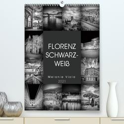 FLORENZ SCHWARZWEIß (Premium, hochwertiger DIN A2 Wandkalender 2021, Kunstdruck in Hochglanz) von Viola,  Melanie