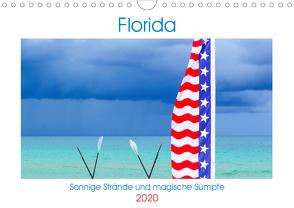 Florida – Sonnige Strände und magische Sümpfe (Wandkalender 2020 DIN A4 quer) von U-DO