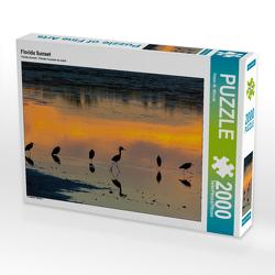 Florida Sunset 2000 Teile Puzzle quer von Wilczek,  Dieter-M.
