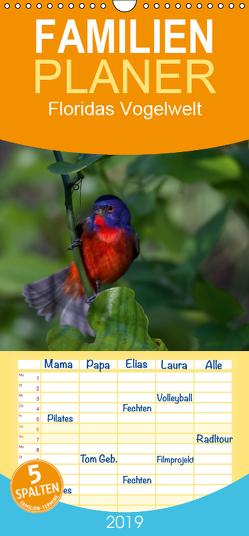 Floridas Vogelwelt – Familienplaner hoch (Wandkalender 2019 , 21 cm x 45 cm, hoch) von Weise / natureinimages.com,  Ralf