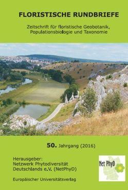 Floristische Rundbriefe 50 (2016)