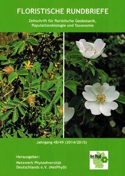 Floristische Rundbriefe Jahrgang 48/49 (2014/2015)