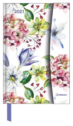 Flower Fantasy 2021 – Diary – Buchkalender – Taschenkalender – 10×15