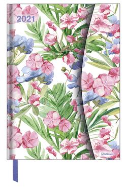 Flower Fantasy 2021 – Diary – Buchkalender – Taschenkalender – 16×22