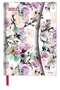 Flower Fantasy 2022 – Diary – Buchkalender – Taschenkalender – 16×22