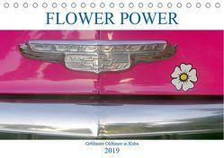 FLOWER POWER – Geblümte Oldtimer (Tischkalender 2019 DIN A5 quer) von von Loewis of Menar,  Henning
