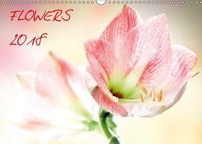 Flowers / 2018 (Wandkalender 2018 DIN A3 quer) von und Max Waldecker,  Axel