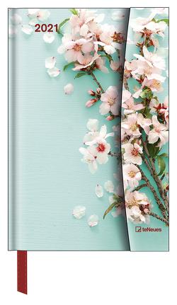 Flowers 2021 – Diary – Buchkalender – Taschenkalender – 10×15