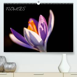 Flowers (Premium, hochwertiger DIN A2 Wandkalender 2021, Kunstdruck in Hochglanz) von Jaeger,  Thomas