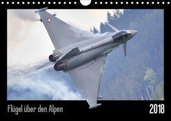 Flügel über den Alpen (Wandkalender 2019 DIN A4 quer) von Delhanidis,  Nick