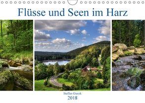 Flüsse und Seen im Harz (Wandkalender 2018 DIN A4 quer) von Gierok,  Steffen