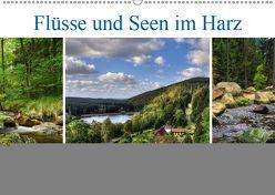 Flüsse und Seen im Harz (Wandkalender 2019 DIN A2 quer) von Gierok,  Steffen