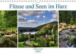 Flüsse und Seen im Harz (Wandkalender 2019 DIN A4 quer) von Gierok,  Steffen