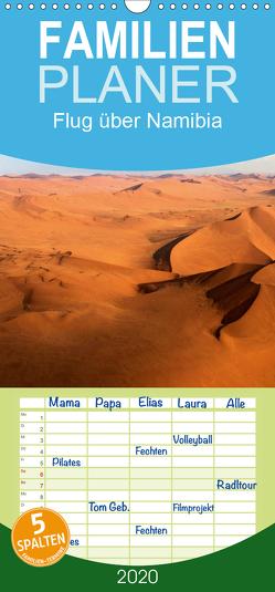 Flug über Namibia – Familienplaner hoch (Wandkalender 2020 , 21 cm x 45 cm, hoch) von Voss,  Michael