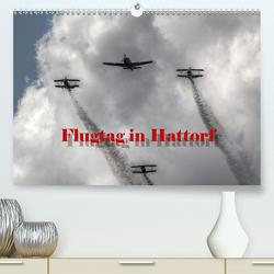 Flugtag in Hattorf (Premium, hochwertiger DIN A2 Wandkalender 2021, Kunstdruck in Hochglanz) von Weiss,  Michael