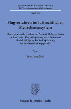 Flugverfahren im luftrechtlichen Mehrebenensystem. von Heß,  Franziska