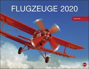 Flugzeuge Technik Kalender 2020 von Heye