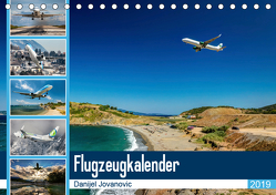 Flugzeugkalender 2019AT-Version (Tischkalender 2019 DIN A5 quer) von Jovanovic,  Danijel