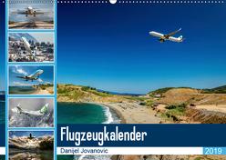 Flugzeugkalender 2019AT-Version (Wandkalender 2019 DIN A2 quer) von Jovanovic,  Danijel