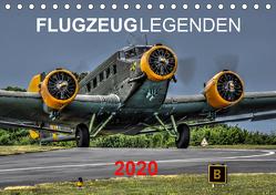 Flugzeuglegenden (Tischkalender 2020 DIN A5 quer) von PHOTOART & MEDIEN,  MH