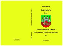 Flurnamen Stadt Northeim Band 1 von Gehmlich,  KLaus