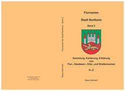 Flurnamen Stadt Northeim Band 2 von Gehmlich,  KLaus