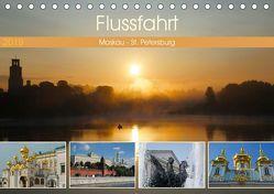 Flussfahrt Moskau – St. Petersburg (Tischkalender 2019 DIN A5 quer) von Photo4emotion.com