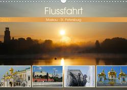 Flussfahrt Moskau – St. Petersburg (Wandkalender 2021 DIN A3 quer) von Photo4emotion.com