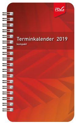 FLVG Terminkalender 2019 – Format kompakt von Lückert,  Wolfgang