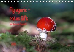 Fly agaric – rotes Gift (Tischkalender 2019 DIN A5 quer) von Flori0