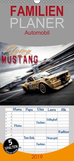 Flying Ford Mustang – Familienplaner hoch (Wandkalender 2019 , 21 cm x 45 cm, hoch) von Hinrichs,  Johann