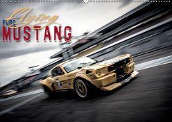 Flying Ford Mustang (Wandkalender 2019 DIN A2 quer) von Hinrichs,  Johann