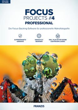 Focus projects 4 professional (Win & Mac)