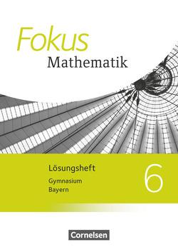 Fokus Mathematik – Bayern – Ausgabe 2017 – 6. Jahrgangsstufe von Almer,  Johannes, Birner,  Gerd, Kammermeyer,  Friedrich, Kilian,  Heinrich, Sauer,  Jürgen, Zechel,  Jürgen