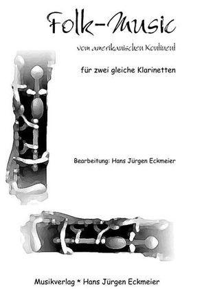 Folk-Music vom amerikanischen Kontinent für zwei gleiche Klarinetten von Eckmeier,  Hans J