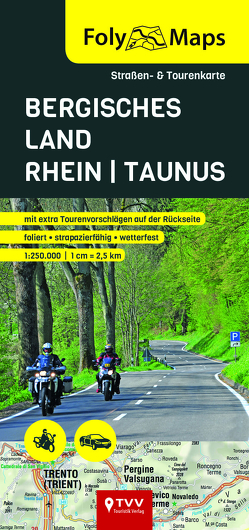 FolyMaps Bergisches Land – Rhein – Taunus 1:250 000