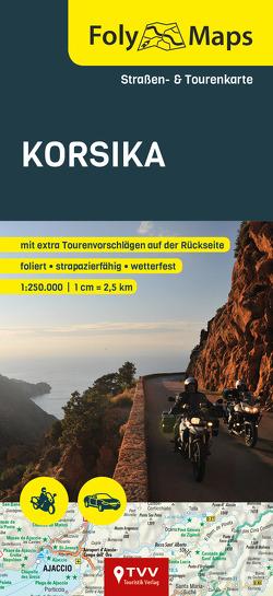 FolyMaps Karte Korsika 1:250 000