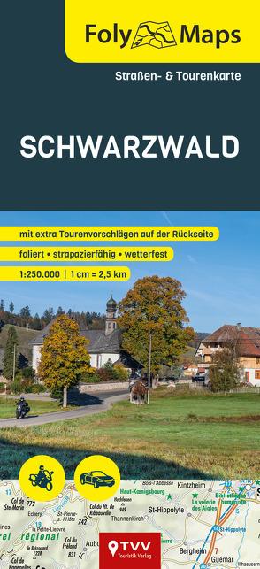 FolyMaps Karte Schwarzwald 1:250 000