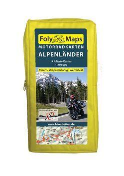FolyMaps Motorradkarten Alpenländer