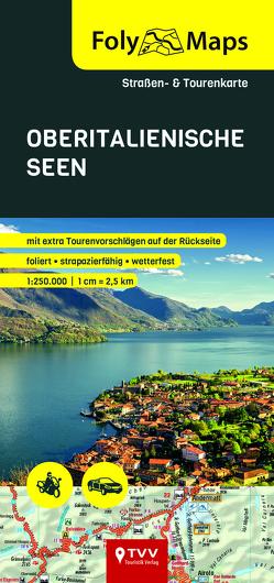 FolyMaps Oberitalienische Seen 1:250 000