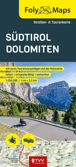 FolyMaps Südtirol Dolomiten 1:250 000