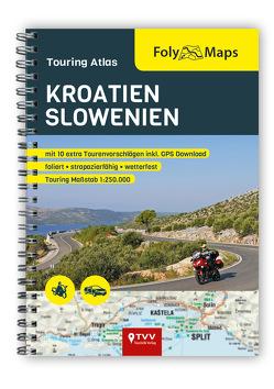 FolyMaps Touringatlas Kroatien Slowenien 1:250.000