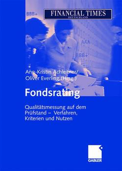 Fondsrating von Achleitner,  Ann-Kristin, Everling,  Oliver