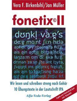 fonetix II von Birkenbihl,  Vera F, Müller,  Jan
